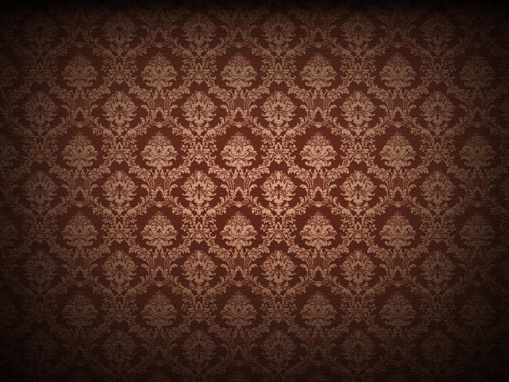 High Resolution Damask Pattern